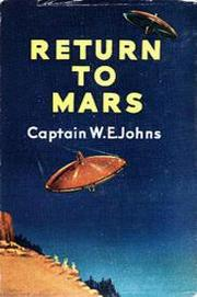 Return to Mars by W. E. Johns