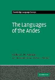 Cover of: The Languages of the Andes by Willem F.H. Adelaar, Pieter Muysken