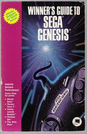 Winner's Guide to Sega Genesis by Kate Barnes