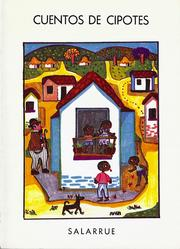 Cover of: Cuentos de cipotes by Salarrué