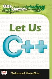 Cover of: Let Us C++ by Yashavant Kanetkar
