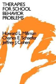 Therapies for school behavior problems PDF