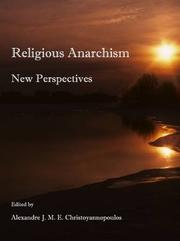 Religious Anarchism by Alexandre Christoyannopoulos
