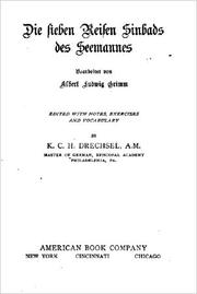 Die sieben Reisen Sinbads des Seemannes by Albert Ludwig Grimm, Karl C. H. Drechsel
