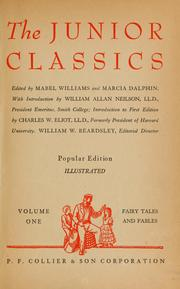 Cover of: The New junior classics by Mabel Williams