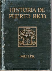 Cover of: Historia de Puerto Rico by Paul Gerard Miller