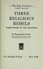 Three religious rebels PDF