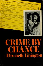 Crime by chance by Elizabeth Linington