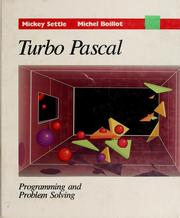 Turbo Pascal by Mickey Settle