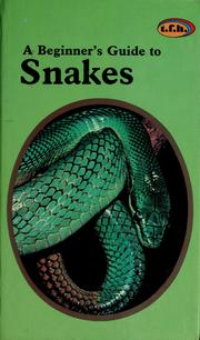 A beginner's guide to snakes PDF