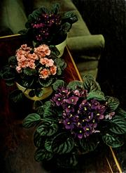 Flowering house plants by James Underwood Crockett