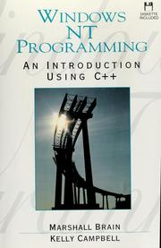 Windows NT programming by Marshall Brain