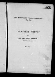 "Fridtjof Nansen's ""Farthest north"" by Fridtjof Nansen"