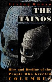 The Tainos by Irving Rouse