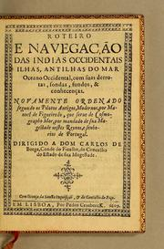 Roteiro e nauegação das Indias Occidentais ilhas, antilhas do mar Oceano Occidental by Manuel de Figueiredo