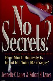 No secrets? PDF