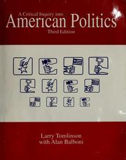 A critical inquiry into American politics PDF