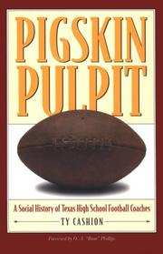 Pigskin pulpit by Ty Cashion