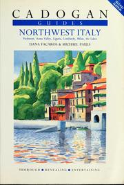 Cover of: Northwest Italy