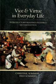 Vice & Virtue in Everyday Life PDF