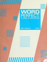 WordPerfect by Mary Alice Eisch