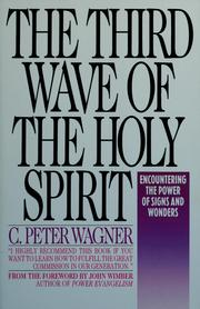 The third wave of the Holy Spirit PDF