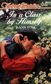 Cover of: In A Class By Himself by JoAnn Ross