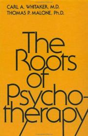 The roots of psychotherapy PDF