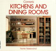 Conran's Kitchens and Dining Rooms by Nonie Niesewand