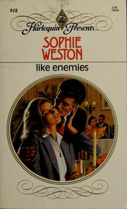 Cover of: Like Enemies by Sophie Weston