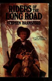 Riders of the long road PDF
