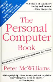 The personal computer book by Peter McWilliams