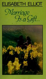 Marriage is a gift PDF