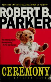 Cover of: Ceremony by Robert B. Parker