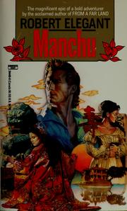 Cover of: Manchu by Robert S. Elegant