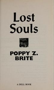 Cover of: Lost souls by Poppy Z Brite