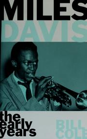 Miles Davis by Cole, Bill