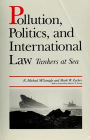 Pollution, politics, and international law by R. Michael M'Gonigle