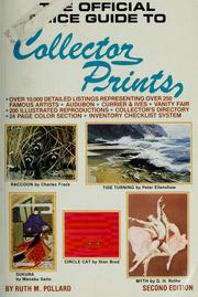 The official price guide to collector prints PDF