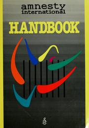 Amnesty International handbook by Amnesty International.