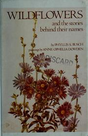 Wildflowers and the stories behind their names PDF