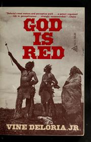 God is red by Vine Deloria