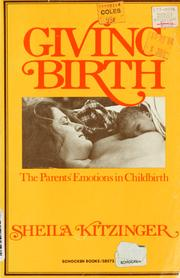 Giving birth by Sheila Kitzinger