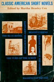 Classic American short novels PDF