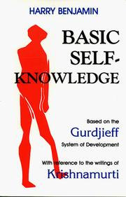 Basic self-knowledge by Harry Benjamin