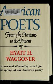 American poets, from the Puritans to the present PDF