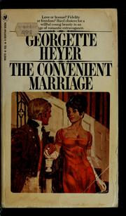 Cover of: The convenient marriage by Georgette Heyer