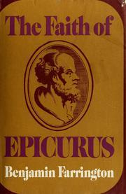 The faith of Epicurus PDF