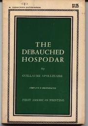 The Debauched Hospodar by Guillaume Apollinaire