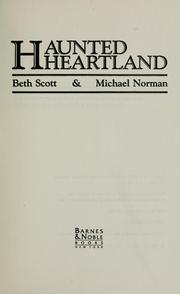 Cover of: Haunted heartland by Beth Scott